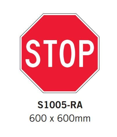 Car Park Signs- Stop sign - Spacepac Industries