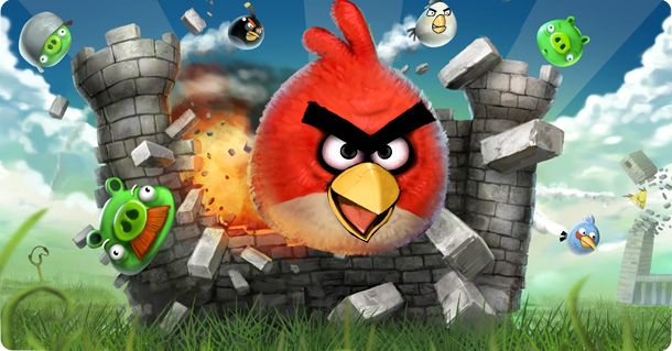 Angry Birds - no I'm not obsessed!