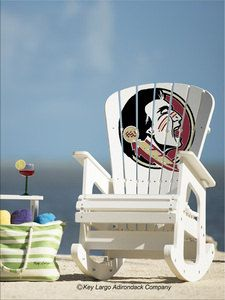 ... furniture florida state seminoles adirondack chairs rocking chairs
