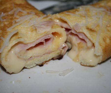 Rollitos de jamón y queso de Mirian Reyes. Con Chef Plus Induction.