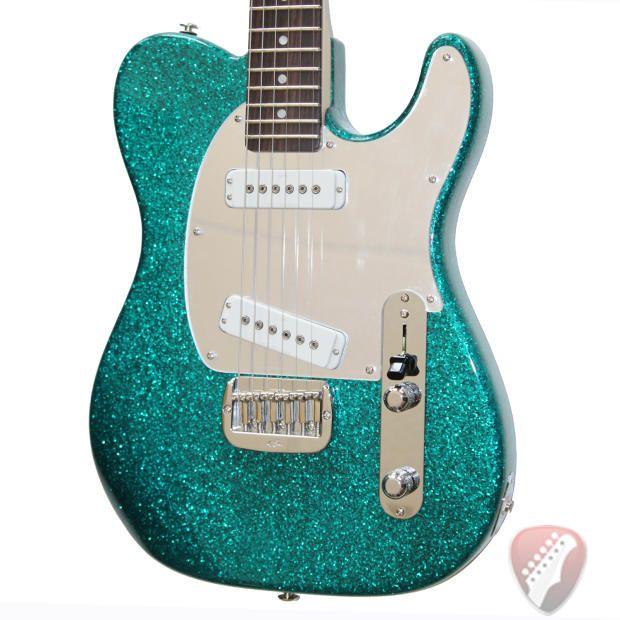 G&L Guitars USA ASAT Special Electric Guitar in Turquoise Metal Flake - Free BBE Ben Wah! | Reverb