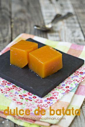 dulce de batata - vídeo receta