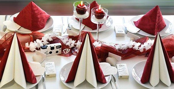 Viele Beispiele / Mustertische für Feste, Feiern & Events, beispielsweise Tischdeko zur Hoc  – Tischdeko Geburtstag