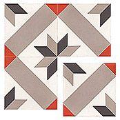 Bauhaus Fliesen Musterfliesen Windrose