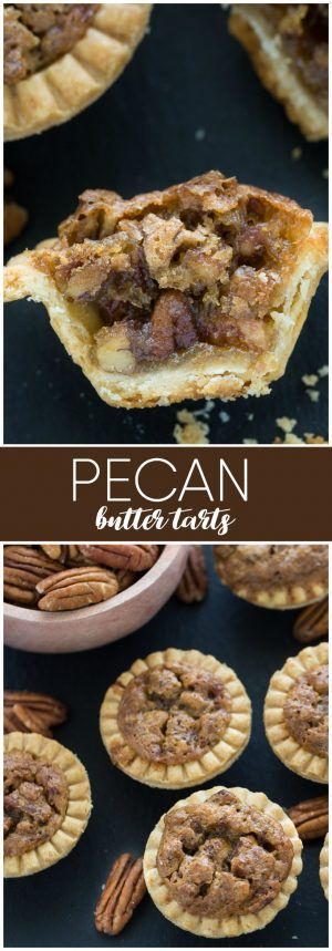 Pecan Butter Tarts - It's easy to see why this recipe is Canada's favourite dessert!