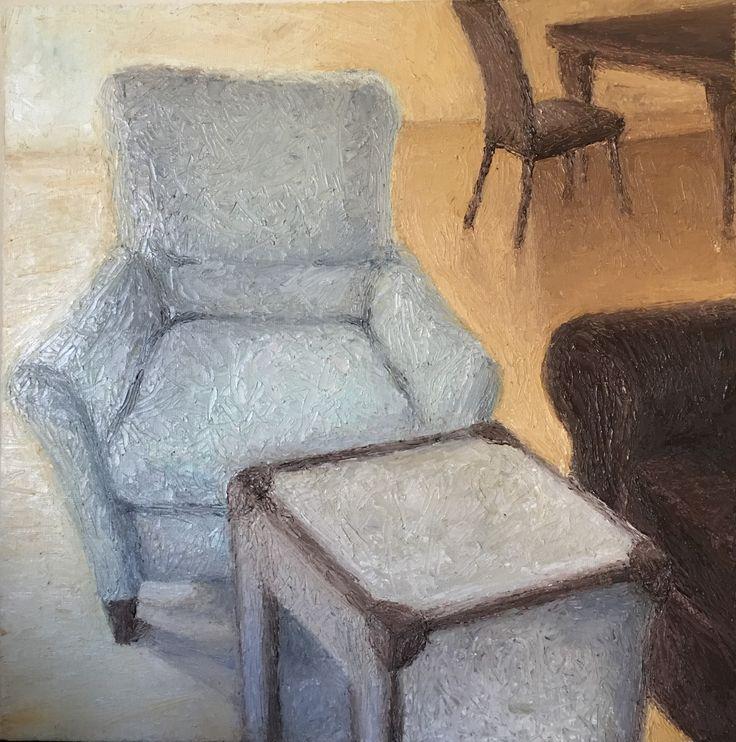 Study #2. 2017. 12 x 12. Oil on Canvas.