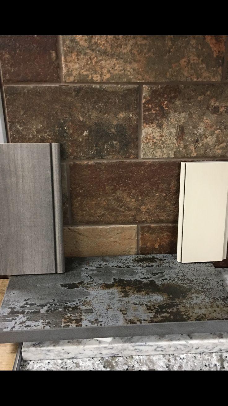 Kitchen Picks Earth Tone Brick Barnwood Or Off White