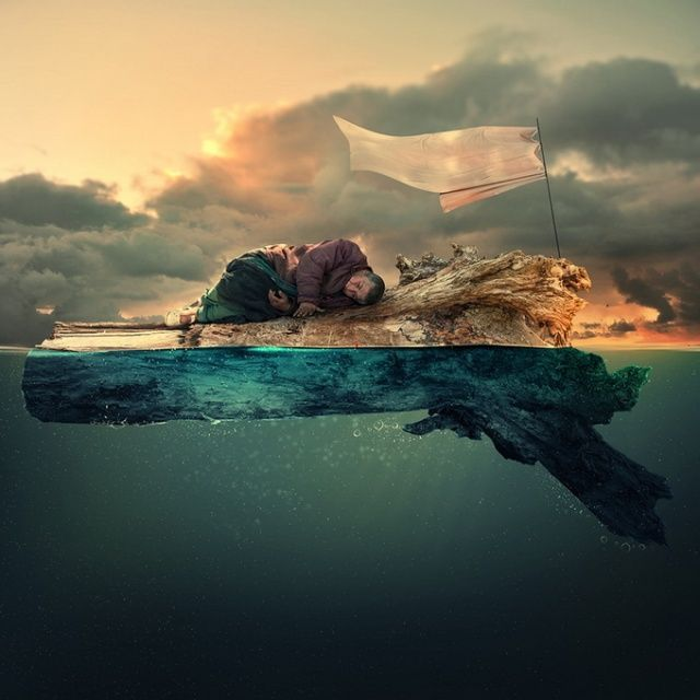Maravilloso fotomontaje de Ionut Caras