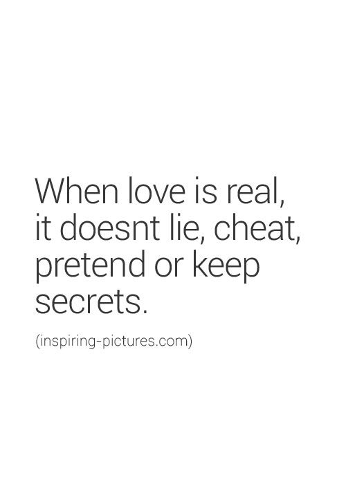 secrets and lies hurt relationship quotes