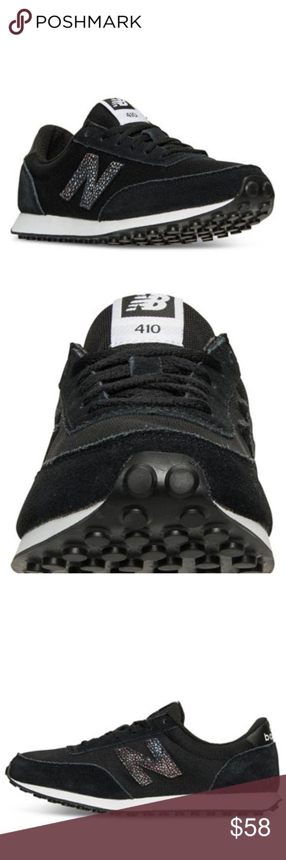 NIB New Balance Women's Black 410 Causal Sneakers NIB New Balance Women's 410 Causal Sneakers / Color Black / Size 6 / 6.5 / 7 / 8 available New Balance Shoes Sneakers