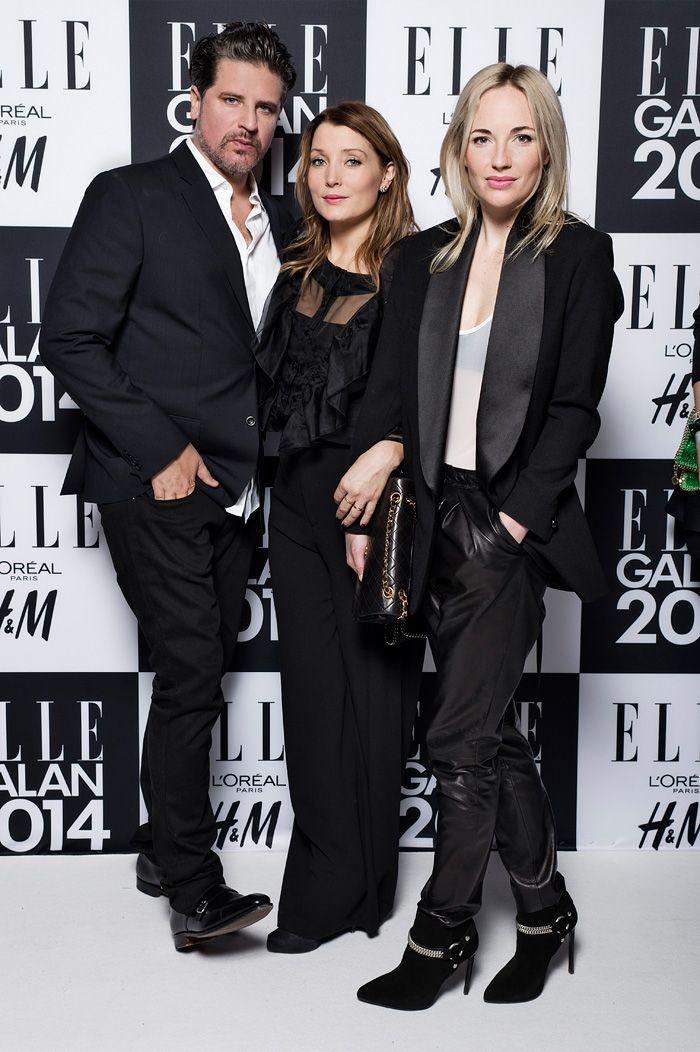 Sigge Eklund, Malin Eklund och Frida Lindström