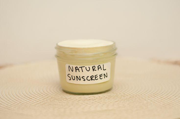 Ultra Moisturizing Natural Sunscreen and lots more doTERRA DIY Beauty Recipes - MyNaturalFamily.com #doterra #diy