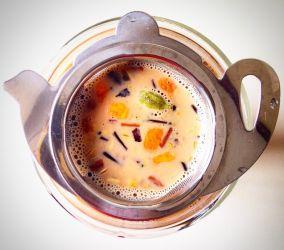Caffeine-Free Spicy Chai Latte #Thermomix