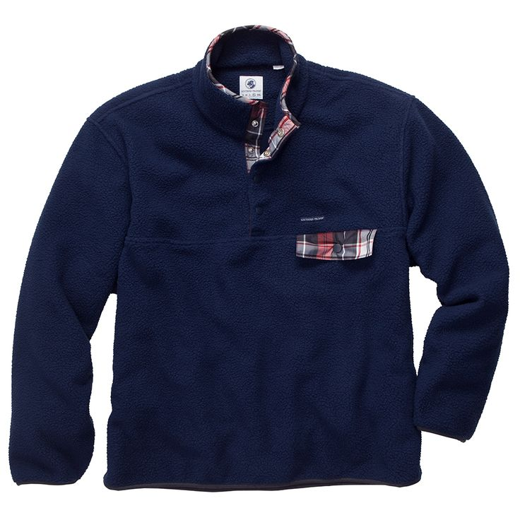 Southern Proper All Prep Pullover // Navy