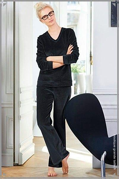 1000 images about pyjama femme grande taille on pinterest. Black Bedroom Furniture Sets. Home Design Ideas