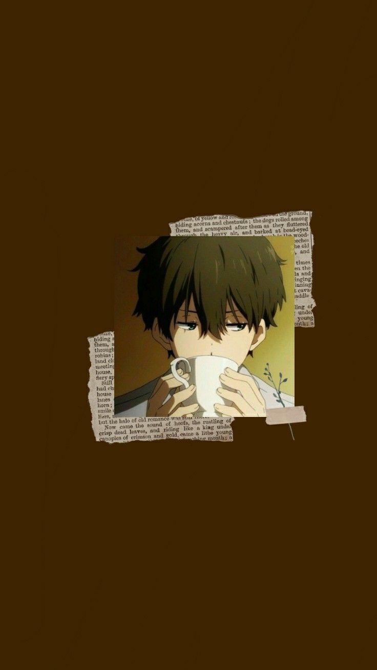 𝗵𝗼𝘂𝘁𝗮𝗿𝗼𝘂 Wallpaper Anime Seni Anime Ilustrasi Ikon