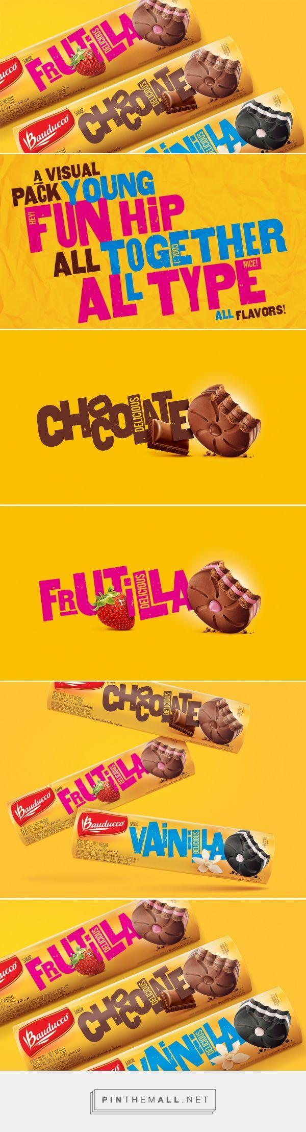 Galletas Bauducco — The Dieline - Branding & Packaging - created via https://pinthemall.net
