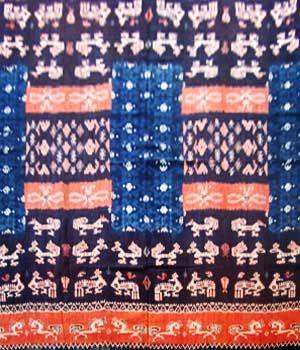 ikat batik - ubud bali, handmade, tie die, hand-spun, hand-woven
