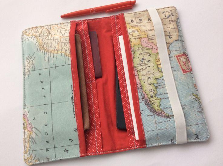 Family Travel Wallet Paspoort hoes  reis documenten   Portemonnee passport holder, travel organizer, travel organizer, passport organizer door TASAMA op Etsy