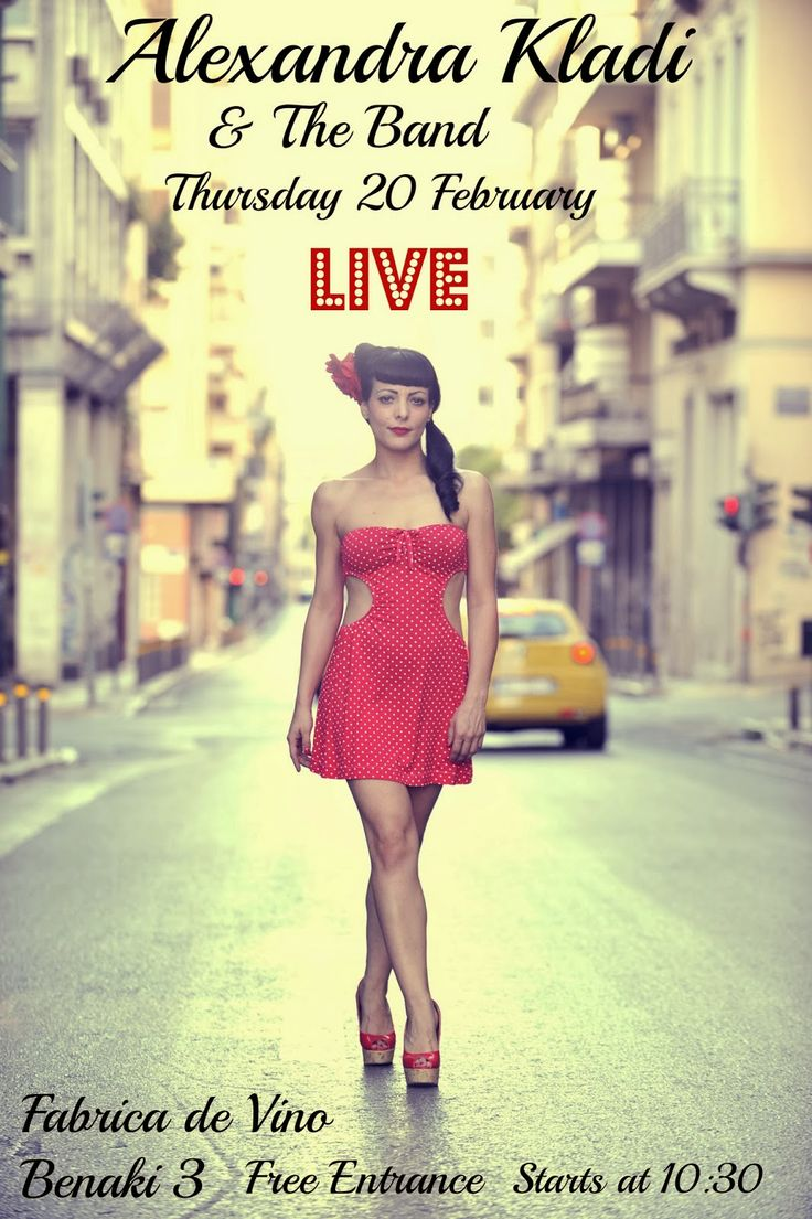 Alexandra Kladi: Alexandra Kladi & The Band Live in Concert @ Fabri...