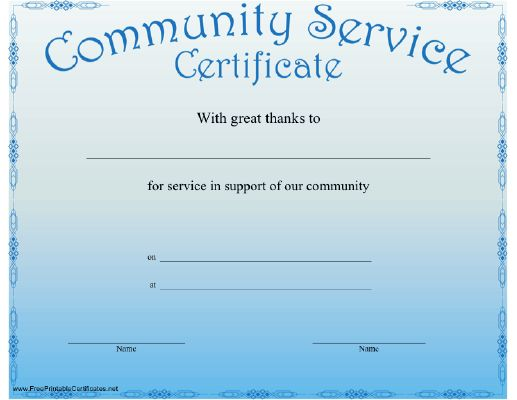 17 best images about volunteer misc on pinterest for Length of service certificate template