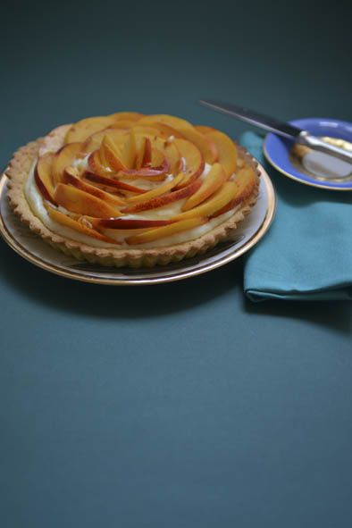 peach tart crostata alle pesche #pie #tart #peach #yogurt #ilovesanmartino
