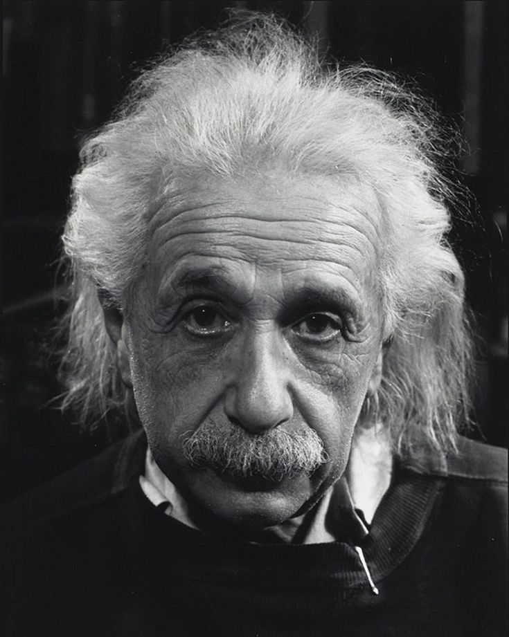 Albert Einstein (1978-1955), German-born theoretical physicist who developed the general theory of relativity, one of the two pillars of modern physics (alongside quantum mechanics). Photo © Philippe Halsman