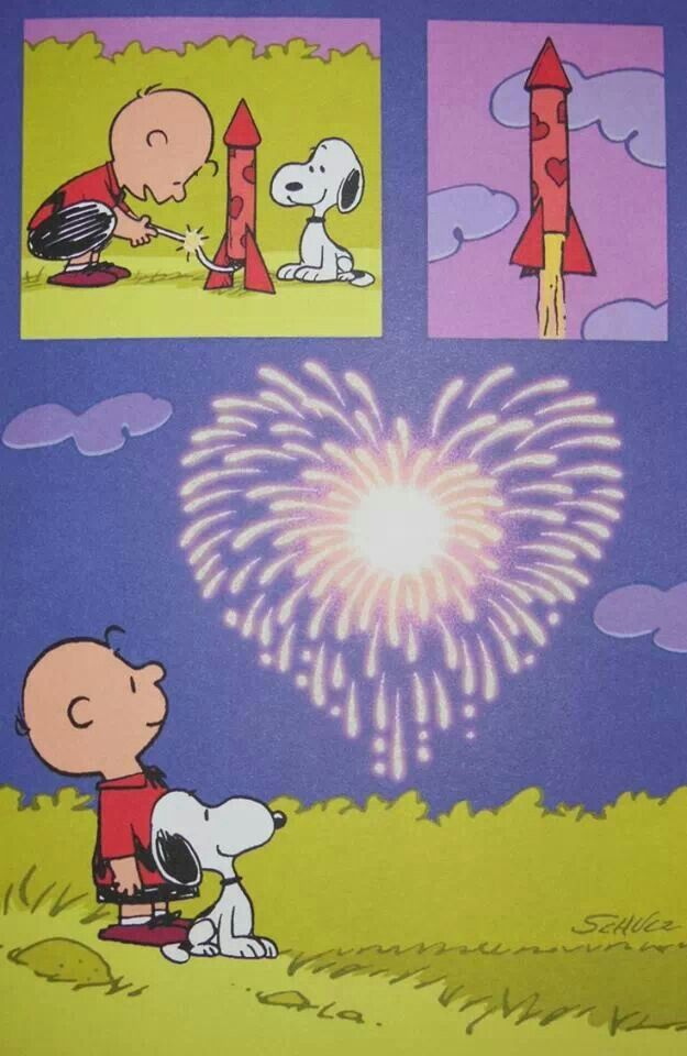 Happy Valentines Day!  For you Mike Bridges... You have given me such wonderful memories of the family holiday get togethers when you would draw me pictures of Snoopy