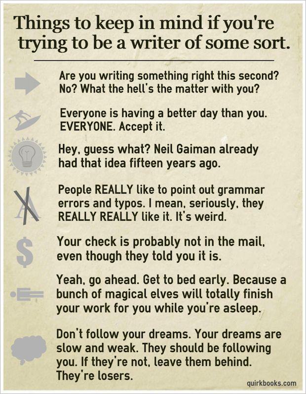 Write a Novel. Haha.