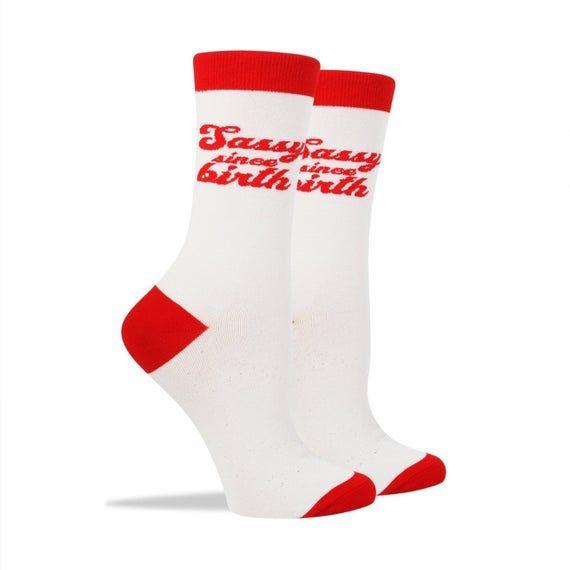 Sassy Since Birth Socks