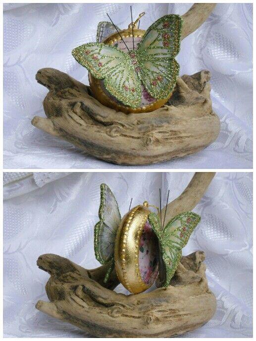 Med. Con farfalla verde :-)