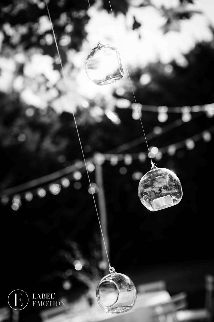 Candle holder romantic wedding by Label' Emotion Provence Wedding & Event agency Provence London Paris Montpellier Lyon Photophores suspendus mariage romantique www.label-emotion.com #Mariage #Wedding #WeddingPlanner #Manson #Light #Bougeoir #Photophore #CandleHolder #Chic #Romantic #Reception #Label'Emotion