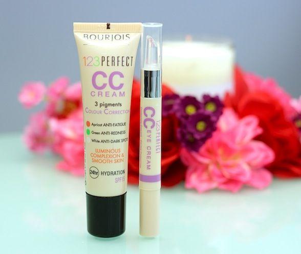 Bourjois CC Cream and Eye Cream Review - Great Combo!!
