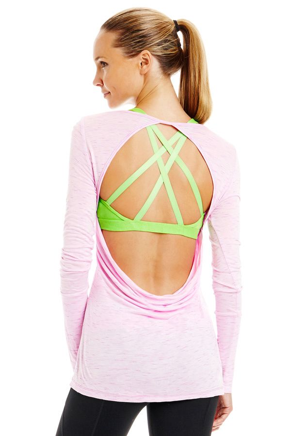 Lorna Jane Beverly Long Sleeve Top w/Ellenora Bra. Find this Pin and more  on Cute Workout Clothes ...