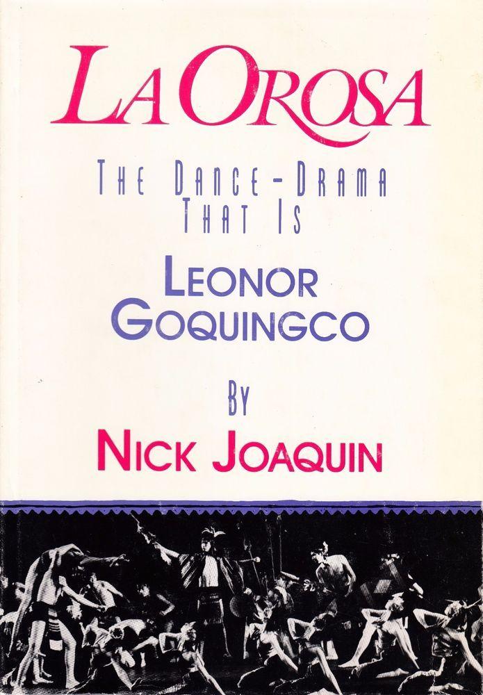 La Orosa The Dance Drama That Is Leonor Goquingco Joaquin Fun Sports Drama