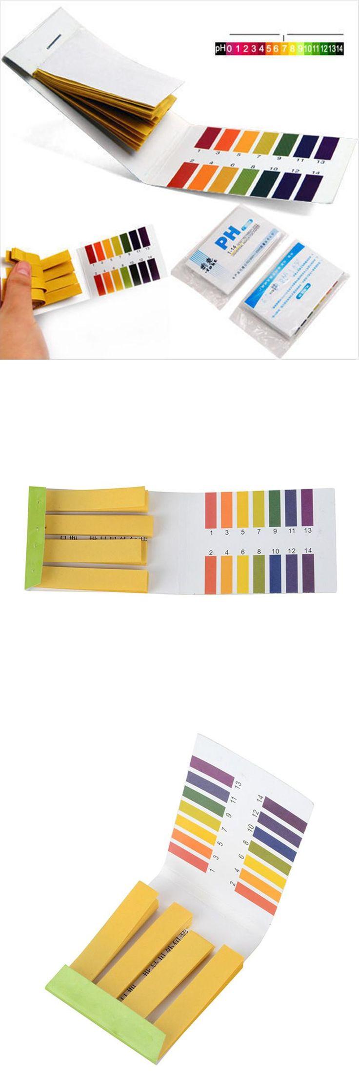 [Visit to Buy] 160pcs PH1-14 Litmus Test Urine Saliva Tester Test Paper Strips Scale Indicator DIY Litmus Testing Tools #Advertisement