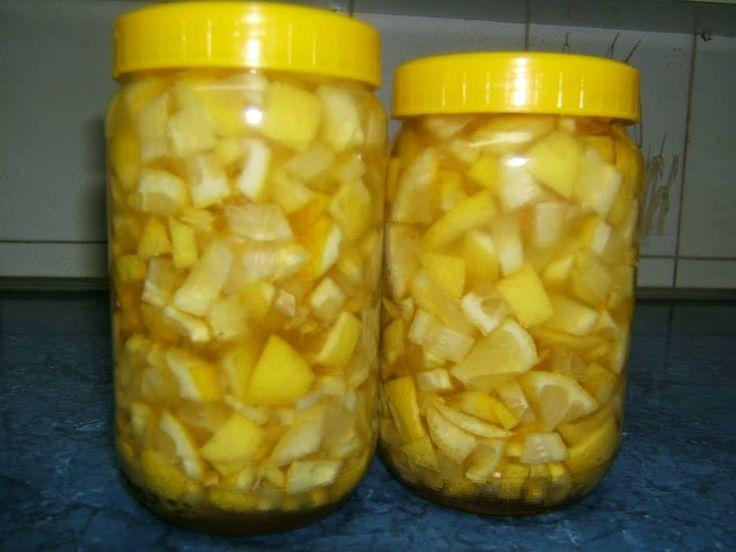 Лек од домаћег меда и домаћег лимуна...