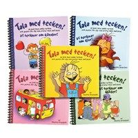 Swedish  sign  language  books  for  kids. Site: talamedtecken.se. Tags  :  Sign  Language  Corner ,  Swedish  Sign  Language ,  learning  signs ,  books ,  deaf  culture.