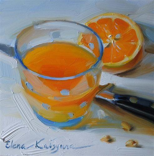 """""""Freshly Squeezed"""" - Original Fine Art for Sale - © Elena Katsyura"""