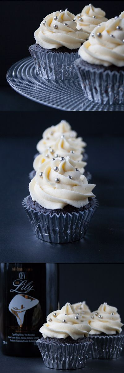 A light and fluffy, bold dark chocolate cupcake with a creamy luscious white chocolate buttercream.