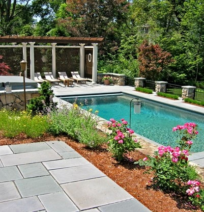 192 best images about small outdoor garden pool on for Backyard pool oasis ideas
