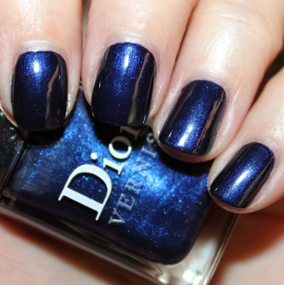 17 Best Ideas About Navy Blue Nails On Pinterest