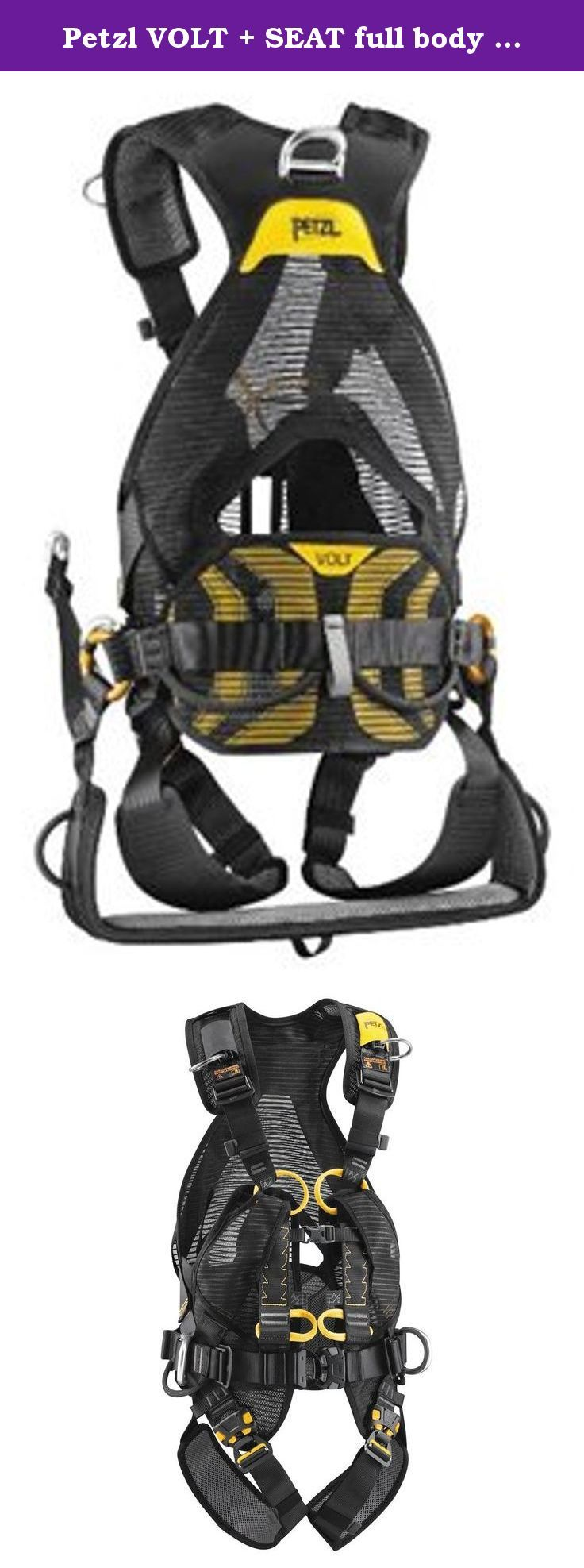 Petzl VOLT + SEAT full body harness with OXAN TRIACTLOCK