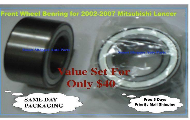Front Wheel Bearing For 2002-2007 Mitsubishi Lancer ES FWD  #AftermarketProducts