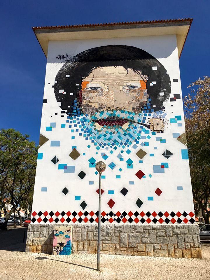 Bevorzugt 625 best STREET ART PORTUGAL images on Pinterest | Street art  SV95