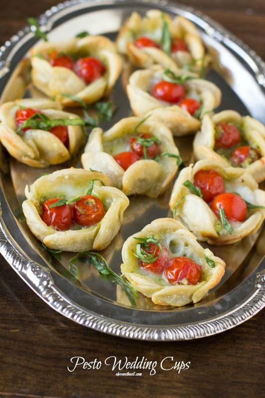 Simple Yet Elegant Wedding Food – Pesto Wedding Tarts!