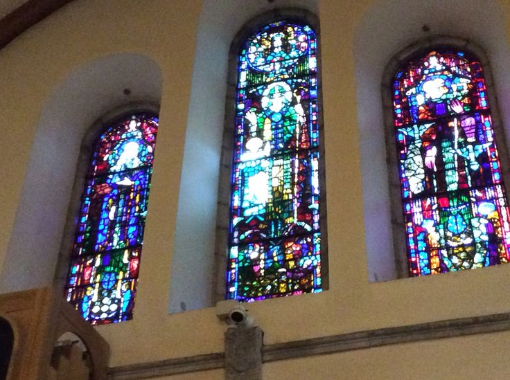 Harry Clarke windows, university of Cork