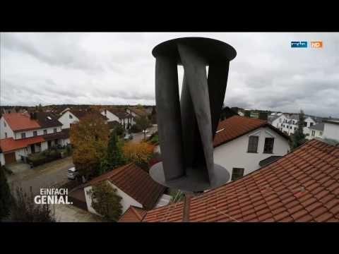 Die Windturbine: Strom vom eigenen Dach   Einfach genial   MDR - YouTube