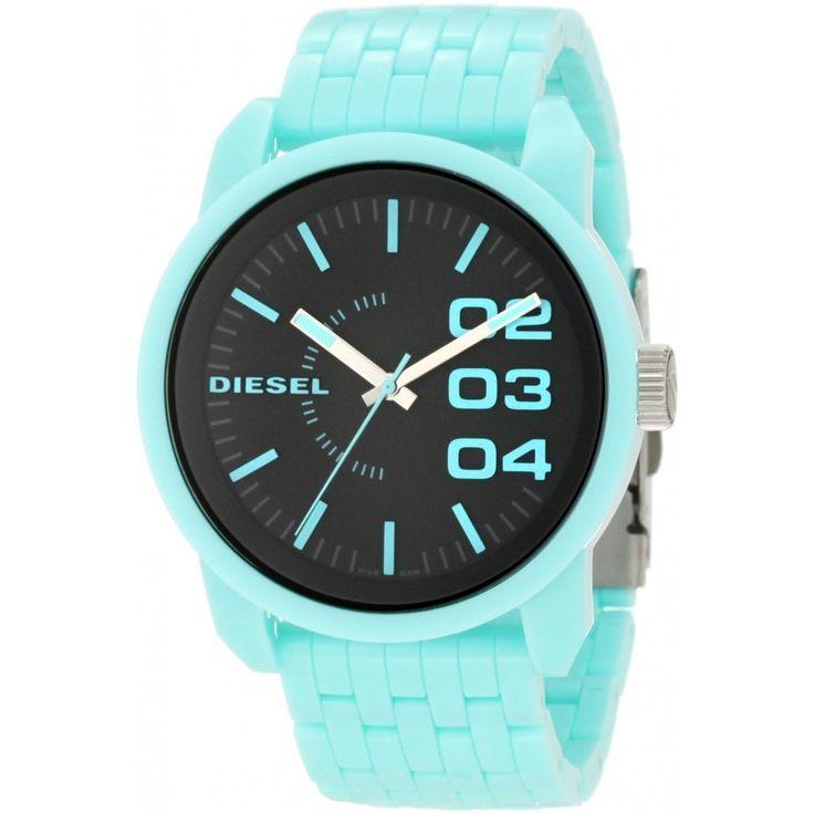 Diesel Frauen dz1525 Farbe Herrschaft seafoam Uhren