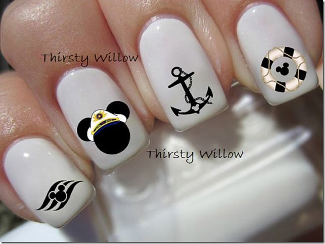 Nail Decals Perfect For Any Disney Fan